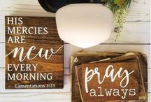 Thy Word is a Light / Inspirational Quotes & Scripture