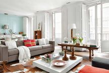 Living Rooms / by Lindsey Frank