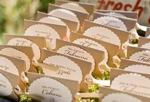 Table Numbers/ Place Cards