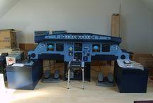 Home made cockpit