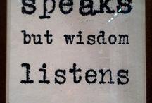 Cytaty / Inspirujące, mądre, dające do myślenia a czasem zabawne sentencje