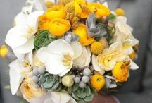 Yellow and grey chic