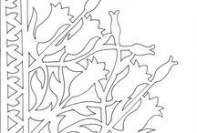 Sarokfiligránok - virágok