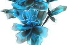 проволока цветы
