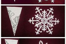 Christmas snow flake