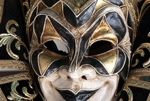 Masks / Collections of masks from jesters to harlequins