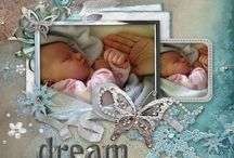 Digital Scrapbooking / Create stunning scrapbooking pages digitally.