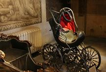 17th & 18th C. Childrens Furniture / Includes: Cradles, Cribs, Cots, Beds, Chairs, Prams, and other child carrying devises.