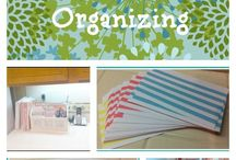 Organization & storage / by Anja