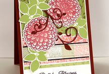 January 2015 Release / Projects featuring the new stamps released by Gina K. Designs in January 2015