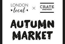 Hackney Wick Autumn Market 2016 / A selection of products from the London Local Autumn Market stall holders.  https://www.etsy.com/uk/local/event/47318130354/london-local-autumn-market-october-23