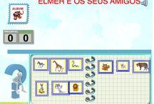 ELMER / http://colepeques.blogspot.com.es/2011/06/elmer-e-as-letras.html