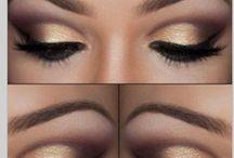 Competition dance makeup