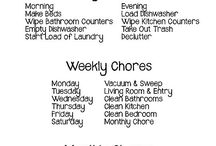 Chore chart ideas for me