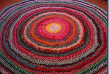 Rag Rugs and Felting