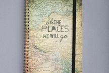 Journals / by Cymoni Larsen