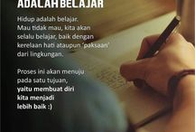 belajar/ilmu