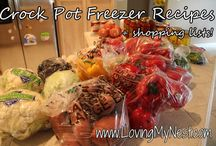 Crock Pot/Slow Cooker Meals