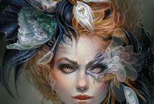 Femme / Ilustraciones y diseño de personajes / by Dennis Flores