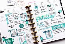 Happy planner    bujo layout