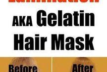 Saç maskeleri