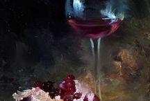 Κρασί με ποτήρι