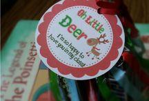 Christmas tags and printables