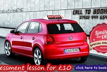 eastend driving school / Pictures from driving school in east London. Lerner cars, Pupil passed photo