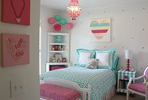 Girl bedroom redo