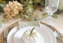 table decorating / Entertaining and decor ideas.