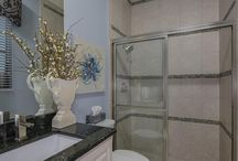 Spa-Like Bathrooms / Luxurious bathrooms by Homes by Westbay.