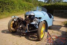 Morgan 3 wheeler - Blue