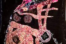 Textile Art by Rocio Matosas