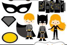 festa Batman e Mulher gato