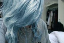 Modrý vlásky <3