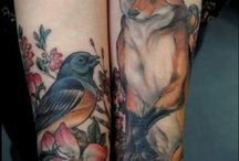 Beautiful Tatoos / I'll never get one, but I admire great ones on others :) / by Joyce Cole