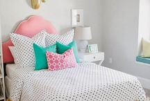 Girls Bedroom Inspiration / by Melanie Collette