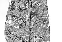 Zentangle patterns / Fantastic for designers and incredible stuff