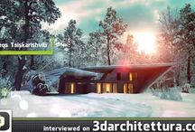 3d videos / inspiring renders for interior design and architecture