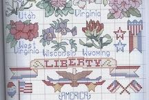 American Cross Stitch / by Toni Parlow