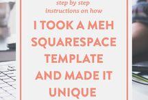 squarespace / tuts