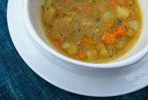 Vegan first couse / pasta , rice , soup , potatoes ...