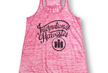 Trendy Tanks for Case IH Women / Looking for trendy tank tops to show your Case IH, International Harvester or Farmall pride? Then farm girl, you're in the right place!