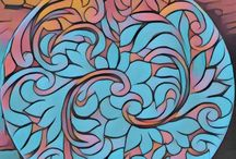 Desenhos na cerâmica