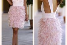 Feathers on garments  {♡}