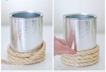 Rope/Burlap Crafts