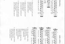 Písničky s notami