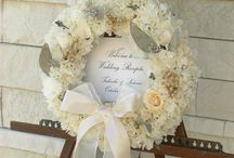 Widding Welcome Board