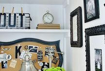 •My Craft & Design Space• / Decor & Storage Ideas for my small but very functional Craft Corner .