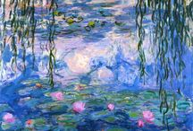 Claude Monet (1840-1926) / Oscar-Claude Monet was a founder of French Impressionist painting, and the most consistent and prolific practitioner of the movement's philosophy of expressing one's perceptions before nature, especially as applied to plein-air landscape painting.